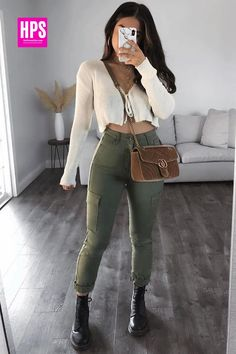 Womens Fashion Casual Summer, Teen Fashion Outfits, Girl Outfits, Casual Fall Outfits, Stylish Outfits, Look Office, Neue Outfits, Mein Style, Teenager Outfits