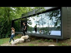 Vipp Shelter tiny prefab as precise industrial-era appliance - YouTube / The Green Life <3