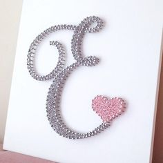 SO MANY possibilities! This E letter be used for wedding decor, nursery, baby and kids room and more. You can combine letters to create beautiful Nursery Room, Nursery Decor, Wall Decor, Wall Art, String Art Letters, Diy Letters, Letter E, Nursery Design, Handmade Gifts