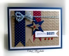 Me, My Stamps and I: Happy 4th  stampin up