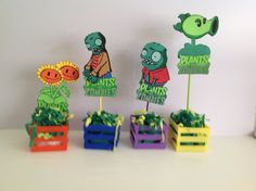 Plants vs. Zombies Party Decoration  Birthday by mexicotraditions