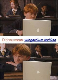 Ron it's leviOsa not leviosAA. Dying hahahahahahaha
