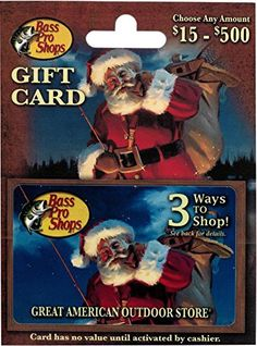 Bass Pro Shops Gift Card >>> Find out more details by clicking the image : Gift cards