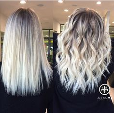 10 Ideas for Balayage on Straight Hair – Stylish Hairstyles Blonde Hair Looks, Icy Blonde, Blonde Hair With Highlights, Ash Blonde Hair, Platinum Blonde Hair, Blonde Hair With Dark Roots, Balayage Hair Blonde Medium, Blonde Honey, Honey Balayage