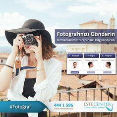 3 Farklı açıdan çekmiş olduğunuz fotoğraflarınızı bize ulaştırın. Uzmanlarımızın birebir geri dönüşleriyle sağlıklı güzelliğe ulaşın. www.estecenter.com - 444 1 596 #Fotoğraf #Sağlık #Güzellik #İstanbul