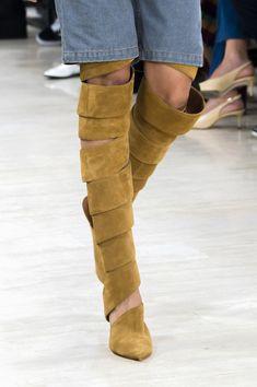 Chaussures printemps-été 2018 - La botte fantaisie