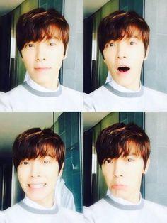 #Donghae #SUPERJUNIOR #SJ #SUJU #selca #cute