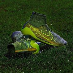 Nike Magista Obra FG - Dark Citron / Black