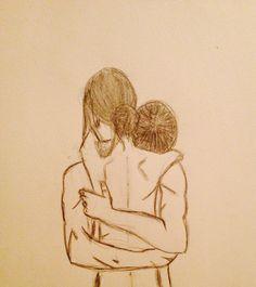 Hug - art