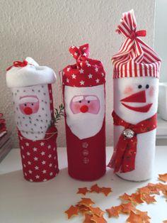 Weihnachtliche Chipsdosen