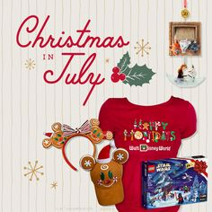 It's never too early to get into the holiday spirit! Check out a first look at some of the merriest new products in honor of #ChristmasinJuly on the Disney Parks Blog!  #Disney #DisneyParks Disney Hotels, Disney Vacations, Disney Trips, Disney Parks Blog, Christmas In July, Christmas Crafts, Disney Vacation Planning, Lego War, Adventures By Disney