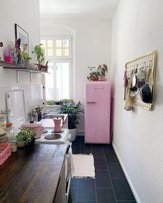 Kitchen in Neuköllen, Berlin, Germany - Home Design and Decoration Design Room, Home Design, Home Interior Design, Layout Design, Design Ideas, Interior Designing, Interior Modern, Dream Apartment, Berlin Apartment