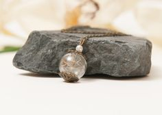 Set of 3 Real Dandelion Seed Necklaces, Eco Chic Dandelion Bridesmaid Set, Bronze Eco Friendly Bridesmaid Gifts