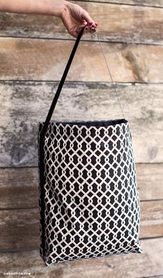 Today we are showing you how to sew a tote bag - because when you have plenty of tote bags you can do plenty of craft supply shopping! By Lia Griffith