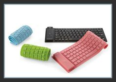 Bluetooth® Wireless Roll-Up Keyboard for iPad®