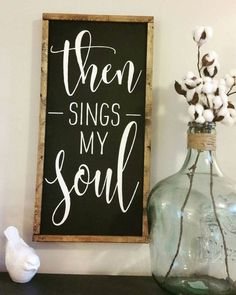 How great thou art lyrics farmhouse sign (scheduled via http://www.tailwindapp.com?utm_source=pinterest&utm_medium=twpin&utm_content=post156393369&utm_campaign=scheduler_attribution)