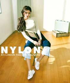 Kim Yoo Jung is an adorable spring gal for 'Nylon' | allkpop.com