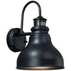 "Franklin Smart Lighting 11""H Rub Bronze Outdoor Wall Light - #3G398 | LampsPlus.com"
