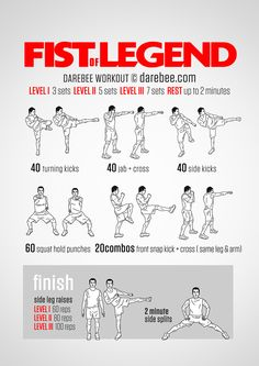 Fist of Legend Workout Neila Rey Workout, Kickboxing Workout, Workout Dvds, Mma Workout, Workout Fitness, Boxing Training Workout, Boxer Workout, Easy Daily Workouts, Exercise Plans