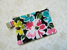 Coin Purse Pouch Cosmetic  READY TO SHIP  Womens  by CyndeesGarden