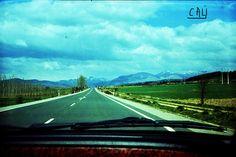 """#""""Paisaje desde el coche""""  Dale a Me Gusta, Repinea y comparte, please!!"""