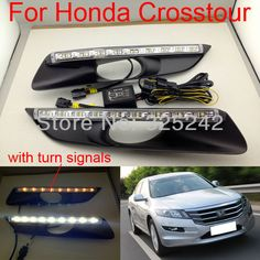 Find More Daytime Running Lights Information about free shipping, Excellent LED Daytime Running Light with turn signals For for Honda Crosstour 2012, Ultra bright LED illumination,High Quality led daytime running light,China daytime running light Suppliers, Cheap led super bright lights from Hongkong exl Industrial Co., Ltd.(guangzhou) on Aliexpress.com