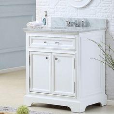 "Found it at Wayfair - Colchester 30"" Single Sink Bathroom Vanity Set - White"