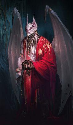 quarkmaster:  Vampire Lord Drakkan  Yann Blomquist