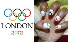 The Top Coat: Olympic (Nail Art) Glory Can Be Yours