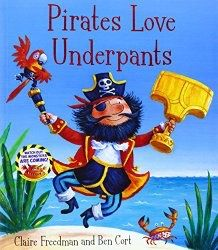 Another great find on Pirates Love Underpants Hardcover by Simon & Schuster Pirate Day, Pirate Life, Pirate Theme, Images Pirates, Pirate Pictures, Pirate Activities, Pirate Preschool, Eyfs Activities, Preschool Books