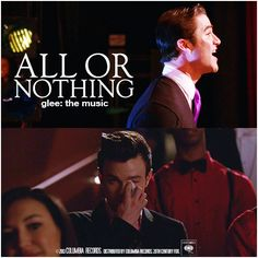 Glee: The Music, All Or Nothing Requested Alternative Album Cover 'Klaine Gaze Collection'  Request by klaine-is-all-you-need