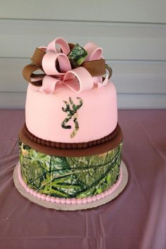 Camo wedding cake I want this for my birthday lol