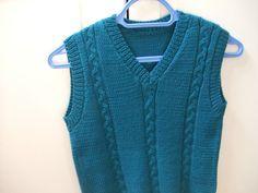modele tricot debardeur pour homme