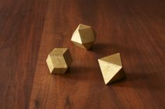 Paper Weight triangle, diamond, square