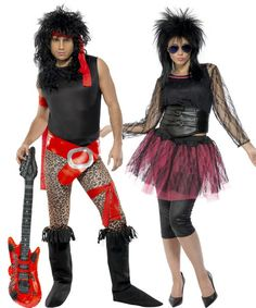 80s-rockstar-costumes-for-couples.jpg (500×600)  sc 1 st  Pinterest : 80s rock halloween costumes  - Germanpascual.Com