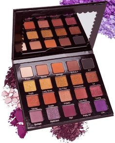 Hashtag Eye Shadow Palette- Purple and and Gold – Violet Voss Cosmetics Mac Makeup Looks, Best Mac Makeup, Love My Makeup, Makeup To Buy, Gorgeous Makeup, Best Makeup Products, Makeup Tips, Eye Makeup, Makeup Ideas