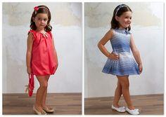 Dos vestidos de la colección de moda infantil primavera-verano 2012 de Fina Ejerique - moda infantil | children's clothes | ropa infantil | kidswear