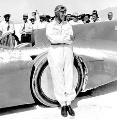 1935 Bonneville   sir Malcolm Campbell (Bluebird) 2