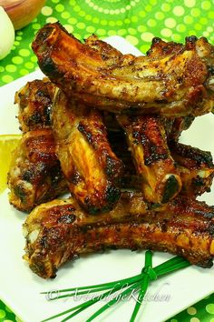 Greek ribs