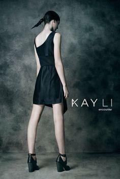 Kay Li Ad Campaign  model: Erica Huber of Wilhelmina Models hair&makeup: Jojo Dantespadua  photographer: Mansoor Bhakti