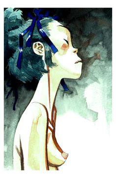 Jamie Hewlett ✤ || CHARACTER DESIGN REFERENCES | キャラクターデザイン | çizgi film • Find more at https://www.facebook.com/CharacterDesignReferences & http://www.pinterest.com/characterdesigh if you're looking for: #grinisti #komiks #banda #desenhada #komik #nakakatawa #dessin #anime #komisch #manga #bande #dessinee #BD #historieta #sketch #strip #fumetto #settei #fumetti #manhwa #koominen #cartoni #animati #comic #komikus #komikss #cartoon || ✤