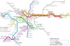 Dica: Mapas dos metrôs das cidades do mundo