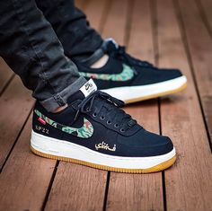 "Supreme x Nike Air Force 1 ""SBTG DPM Swoosh"""