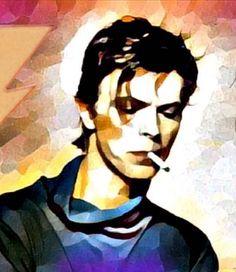 David Bowie art. David Bowie Art, Major Tom, Love Art, Illustrations Posters, Famous People, Creations, Pop, Drawings, Rebel