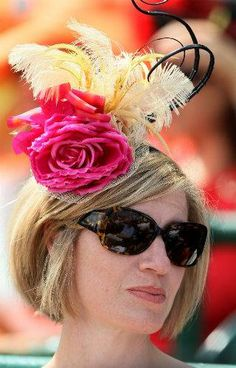 kentucky derby 2012 hats 5 gi Kentucky Derby 2012: Hats galore check out the pictures