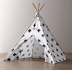 Holiday Gift Guide for Toddler: This play tent from @rhbabyandchild makes for the perfect hiding spot for the little adventurer on your holiday list. Its portable features allow it to be scaled down, making it easy to assemble and store.