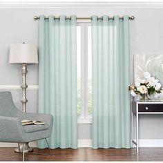 Ellery Eclipse Liberty Sheer Curtain Panel