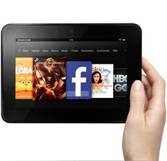 "16GB Amazon Kindle Fire HD 7"" 1280x800 WiFi Tablet w/ Special Offers (Used) From $53 + Free Shipping"