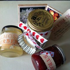 Elderberry und Strawberry Jam, Sconesmix mit Cookie Cutter