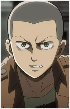 Looking for information on the anime or manga character Connie Springer? On MyAnimeList you can learn more about their role in the anime and manga industry. Watch Attack On Titan, Attack On Titan Art, Hero Fighter, Female Titan, Levi Mikasa, Connie Springer, Humanoid Creatures, Aot Characters, Bestest Friend